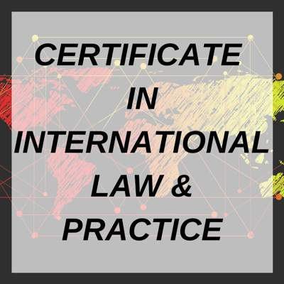 INTERNATIONAL LAW & PRACTICE