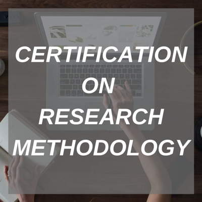 CERTIFICATION ON RESEARCH METHODOLOGY